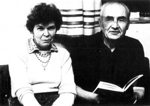 Святослав Караванський і Ніна Строката-Караванська, 1980 р.