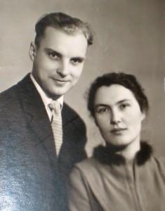 Ігор та Ольга Муромцеви. Початок 1960-х рр