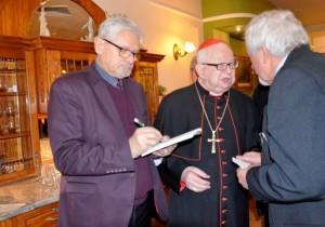 К.ажімеж Бурнат і кардинал Хенрик Гульбинович