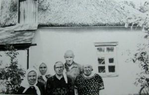 Василь Мисик з рідними 1973 р