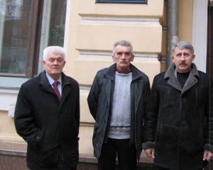 М.Сидоржевський, А.Стожук, М.Шакін