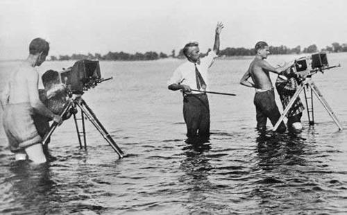 B41 2 Dovzhenko filming